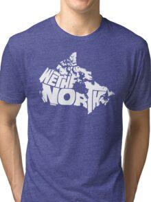 We The North (White) Tri-blend T-Shirt