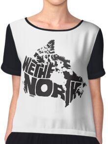 We The North (Black) Chiffon Top