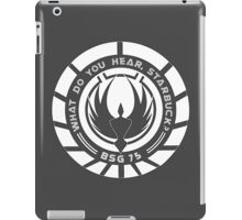 What Do You Hear, Starbuck? iPad Case/Skin