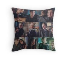 The Lightwood Siblings Throw Pillow
