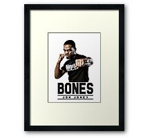 Jonny bones Framed Print