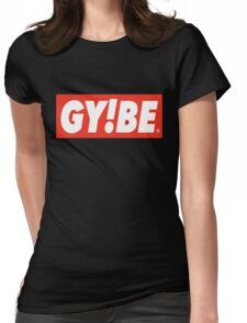 Godspeed You! Obey Logo Womens Fitted T-Shirt