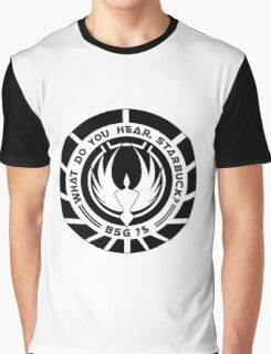 What Do You Hear, Starbuck? (Black) Graphic T-Shirt