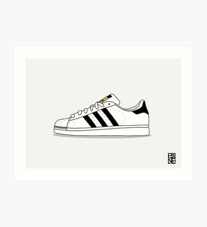 superstar illustration Art Print