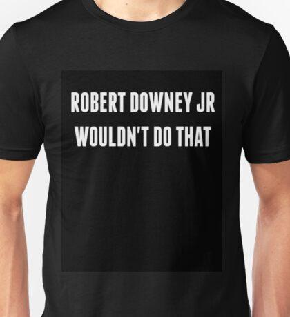 RDJ... Unisex T-Shirt