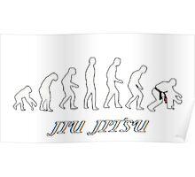 Jiu jitsu evolution Poster