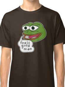 """Pepe The Frog """"Feels good man"""" Classic T-Shirt"""
