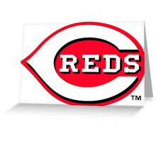 cincinnati reds Greeting Card
