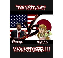 Obama VS Krinio Photographic Print