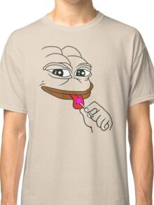 "Pepe The Frog ""Sexy Bom Bom"" Classic T-Shirt"