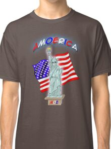 Amoerica the Land of the Free Classic T-Shirt