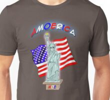 Amoerica the Land of the Free Unisex T-Shirt