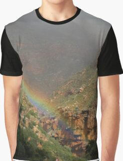 Rainbow in Meiringspoort Graphic T-Shirt