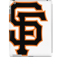 san francisco giants iPad Case/Skin