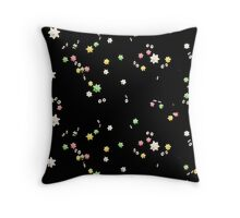 Soot Sprite Eyes 2 Throw Pillow
