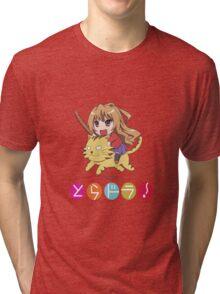 Tagia on Tiger Tri-blend T-Shirt