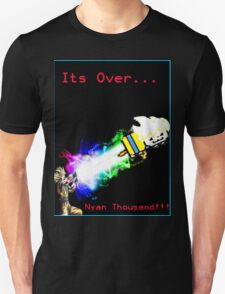 Its Over Nyan Thousand!!! Unisex T-Shirt