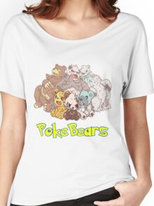 PokeBears Women's Relaxed Fit T-Shirt