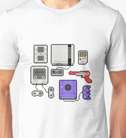 Vintage consoles Unisex T-Shirt