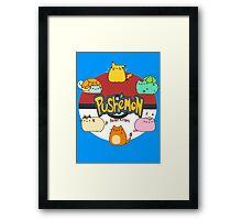 Pushemon Framed Print