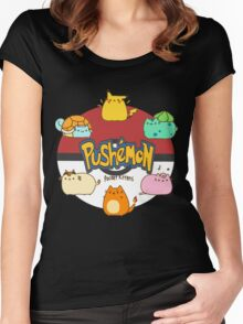 Pushemon Women's Fitted Scoop T-Shirt