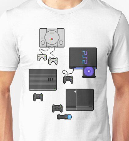 Pixel art consoles Unisex T-Shirt