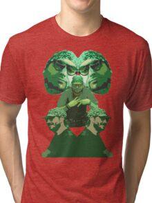 Vape nation Green stack (ethan vape naysh) h3h3 Tri-blend T-Shirt