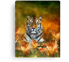 Wild Tigers Canvas Print