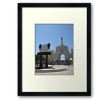 Los Angeles Coliseum Framed Print