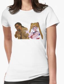 Migos x Sailor Moon  Womens Fitted T-Shirt
