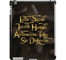 Labyrinth Characters iPad Case/Skin
