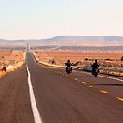 Bikers on Route 66 by Alex Cassels