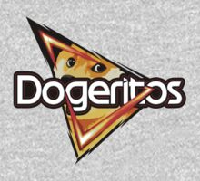 "Doritos ""Dogeritos"" Doge Logo One Piece - Long Sleeve"