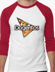 Doritos ''Dogeritos'' Doge Logo Men's Baseball ¾ T-Shirt