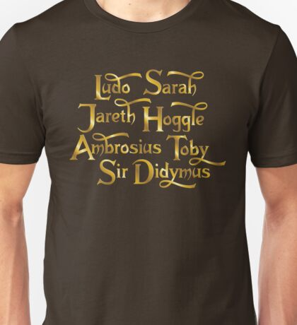 Labyrinth Characters Unisex T-Shirt