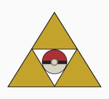 Triforce with Pokeball Baby Tee