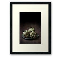 Artichokes I Framed Print