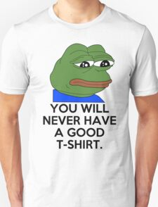 Feels Bad Man Unisex T-Shirt