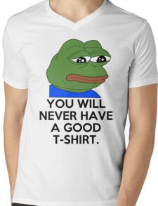 Feels Bad Man Mens V-Neck T-Shirt