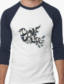 Blossom heart Men's Baseball ¾ T-Shirt