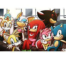 Sonic Gang Photographic Print