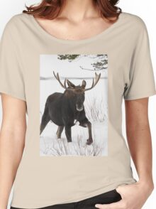 Moose on the Move Women's Relaxed Fit T-Shirt