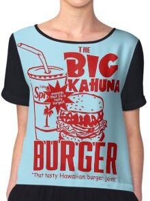 The Big Kahuna Burger Chiffon Top