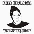 Free Hinojosa: Salty Original Black Print by Ashe Bandia
