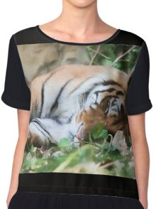 tiger at the zoo Chiffon Top