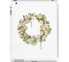 Just the wreath iPad Case/Skin
