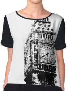 Big Ben - Palace of Westminster, London Chiffon Top