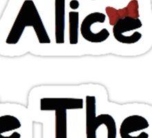 Melanie Martinez Mad Hatter Sticker