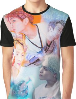 SHINEE Odd Graphic T-Shirt