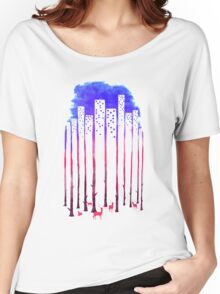 Nature and City Women's Relaxed Fit T-Shirt